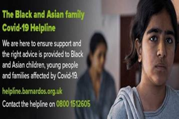 Barnardo's helpline image