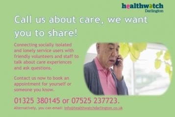 Call us about care image