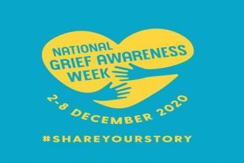 National Grief Awareness Week Logo