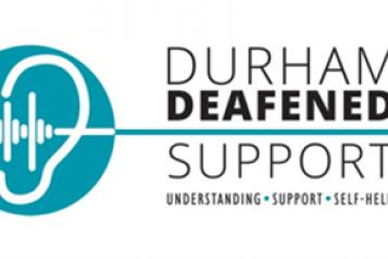 Durham Deafened Support logo