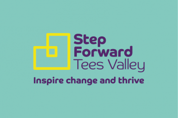 Step Forward Tees Valley Logo