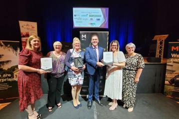 Step Forward Tees Valley wins at Middlesbrough Civic Community Awards