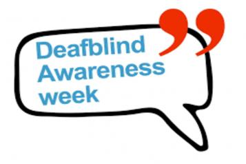 Deafblind Awareness Week image