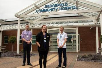 The long Covid clinic team at Sedgefield Community Hospital, in County Durham