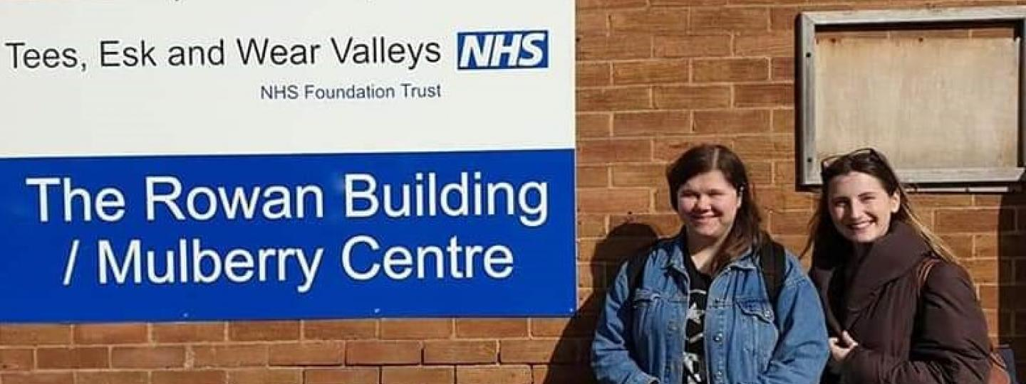 young volunteers visiting mental health services